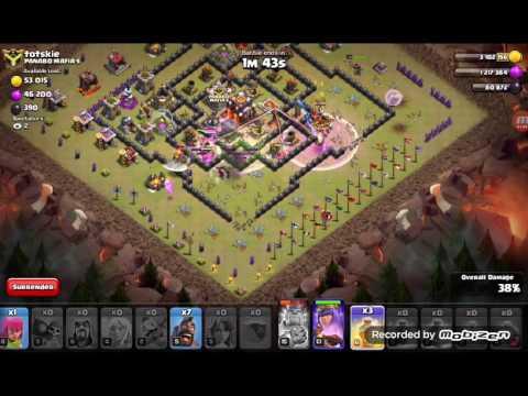 Live attack war 3mnit awal batle day