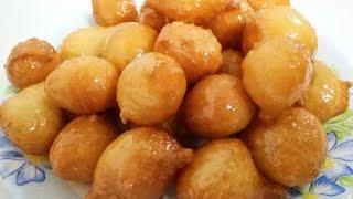 Arabic SWEET DUMPLINGS Recipe Light bhe taste bhe Easy bhe (KAIMATI LUQAIMAT)*KHALIDA KITCHEN*