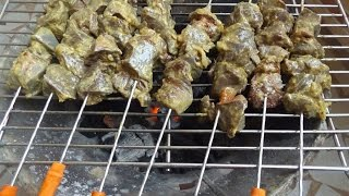 liver skewers Recipe -- Kadirecipes