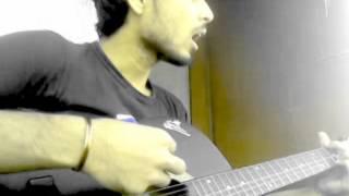 ekhon ami-ayon guitar cover by jahangir