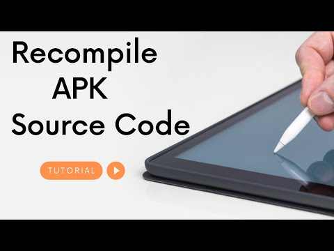 Decompile APK to Source Code Android Easy Tutorial using ApkTool