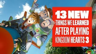 13 Things We Know After Playing Kingdom Hearts 3 - New Kingdom Hearts 3 Gameplay