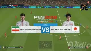 Final PES Asian games Iran vs Jepang Jakarta Palembang 2018