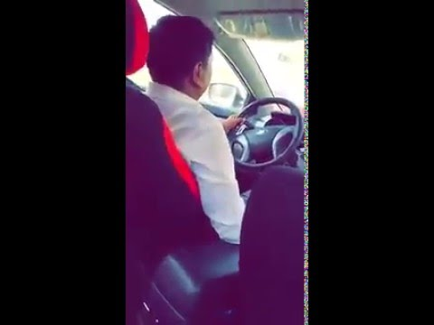 Asian driver sexually assaults Saudi woman سائق يمس امرأة سعودية