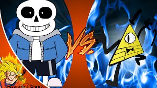 SANS vs BILL CIPHER! Cartoon Fight Club Episode 36 REACTION!!!
