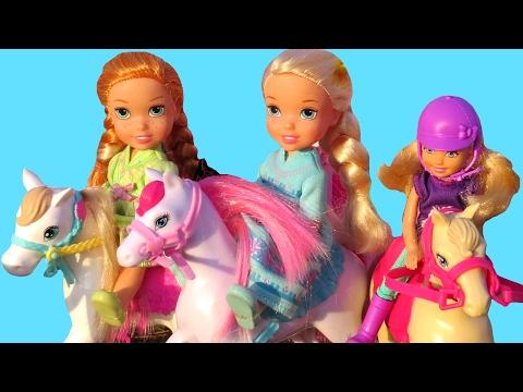 Xxx Mp4 Horse Feeding Washing Elsa Anna Toddlers Muddy Horse Farm Play Stable Barn Eat 3gp Sex