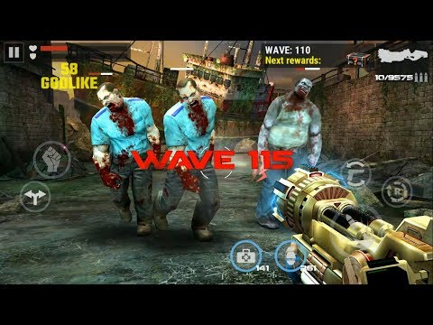 DEAD TARGET: Zombie || ZOMBIE RIVER: Wave 115 vs 3686 Zombies 「Android Gameplay」