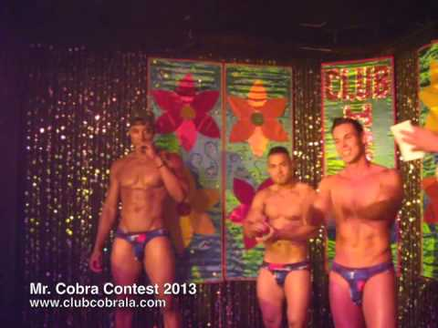 Hot Male Dancers Mr. Cobra Contest 2013