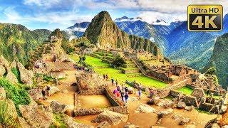 Machu Picchu, Aguas Calientes, Peru - 4K Stock Footage