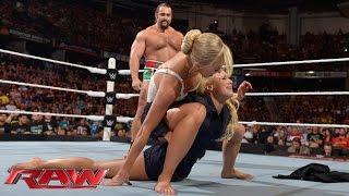 Mark Henry vs. Rusev: Raw, Aug. 10, 2015