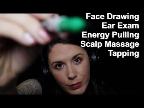 Xxx Mp4 ASMR Triggers Tapping Ear Exam Face Drawing Scalp Massage Energy Pulling 3gp Sex