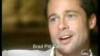 Brad Pitt talks about Angelina Jolie with Diane Sawyer