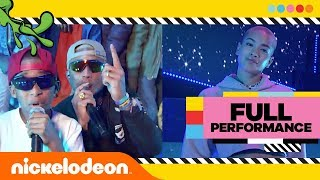 N.E.R.D Performs LEMON 🍋 at The 2018 Kids' Choice Awards! DANCE OFF CHALLENGE! | Nick