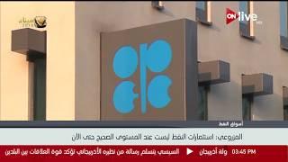 وزير الطاقة الإماراتي: استثمارات النفط ليست عند المستوى الصحيح حتى الآن