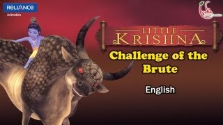 Little Krishna English - Episode 8 Challenge Of The Brute