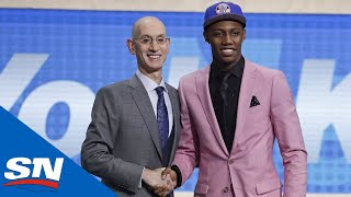 All Four Canadians Picked In Record-Setting First Round Of NBA Draft