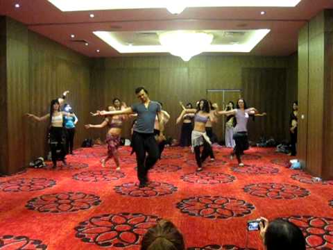 Roman Dance lesson with Ozgen in Istanbul Turkish Belly Dancer