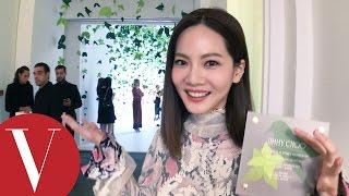 曾之喬 (喬喬) 愛上Blumarine夢幻美衣, Jimmy Choo 總裁誇讚她是未來巨星|VOGUE客座編輯|米蘭時裝週