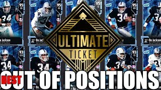 Best Out Of Postion Ultimate/Golden Ticket To Make | Madden 18 Ultimate Team