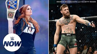 Becky Lynch teases training session with Conor McGregor
