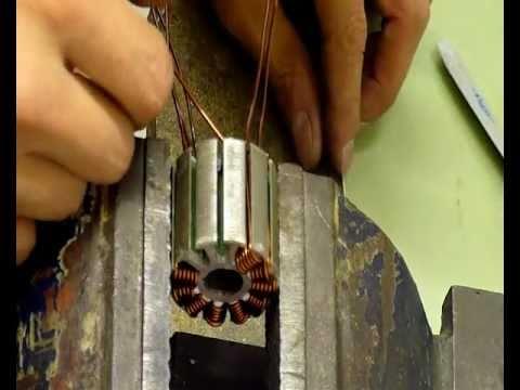 Перемотка статора электродрели своими руками 61