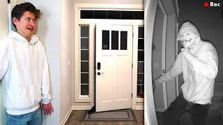 CREEPY Stalker SNEAKS INSIDE My House... (Home Alone)