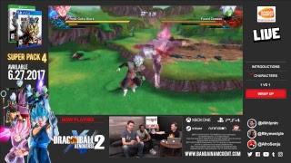 Dragon Ball XENOVERSE 2 DB Super Pack 4 Livestream   PS4, X1, PC