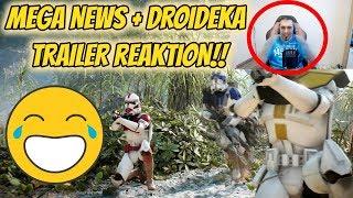 Blaster Helden Änderung + Droideka Trailer Reaktion! Star Wars Battlefront II