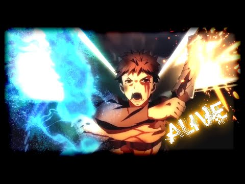 Shirou dies by Saber hand - Alive