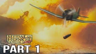 Medal of Honor Rising Sun Gameplay Walkthrough Part 1 - Pearl Harbor + Philippines
