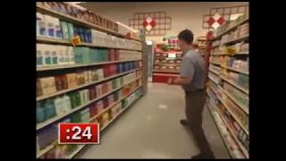 Supermarket Sweep - Traci & Trina vs. Rick & Amy vs. Karen & Michele (2000)