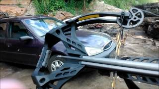 Crossbow guillotine 185lbs -Kusza bloczkowa a ničení vraků