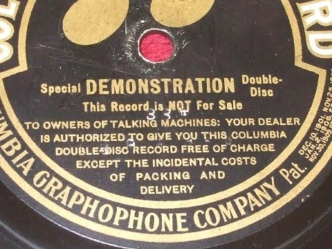 Xxx Mp4 Rare Talking Machine Industry Photos Columbia Advertising Double Disc 1910 Frank C Stanley 3gp Sex