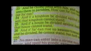 PT1 I Behold Satan Fall From Heaven As Lighting! The End Of Edom!