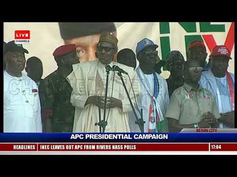 President Buhari Leads Campaign Train To Benin City Pt.5 Live Event