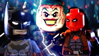 LEGO BATMAN VS RED HOOD (