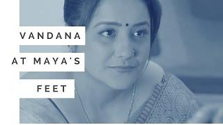 Vandana at Maya's feet      Beyhadh: बेहद News - April25, 2017 Sony TV Serial
