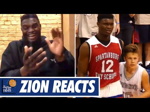 Zion Williamson Breaks Down The Viral Video of Him Being Guarded by The 5'6 Kid w JJ Redick