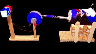 How To Make A Steam Powered Electricity Generator