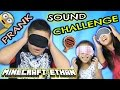 Sound challenge prank w minecraft ethan emma and aubrey