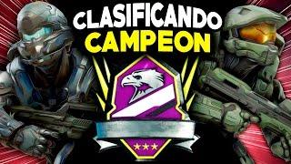 Halo 5 | CLASIFICANDO EN CAMPEÓN | Máximo Rango Impresionante