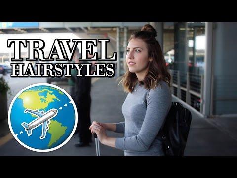 Easy, Heatless Travel Hairstyles