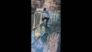 Zhangjiajie Glass Bridge Wingsuit BASE