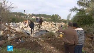 إسرائيل تقتحم مدينة جنين وتقتل فلسطينيا وتهدم منزلين