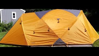 How To Set Up Cabelas 6 Person Gaurdian Tent.