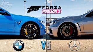 FORZA HORIZON 2 - BMW VS MERCEDES (Xbox One) / Lets Play Forza Horizon 2