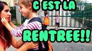 C'EST LA RENTRÉE! BACK TO SCHOOL! - ANGIE LA CRAZY SÉRIE -
