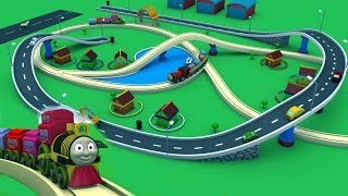 Cartoon for kids - Toy Train Cartoon for children -Train Videos for kids - Toy Factory Cartoon