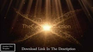 Golden Flare- Free Adobe After Effects Intro Template Download