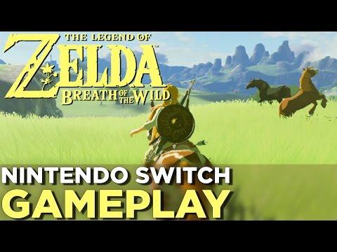 watch 17 Minutes of THE LEGEND OF ZELDA: BREATH OF THE WILD Nintendo Switch Gameplay